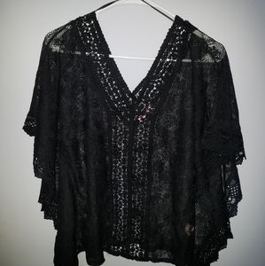 Candies Sheer Blouse XS